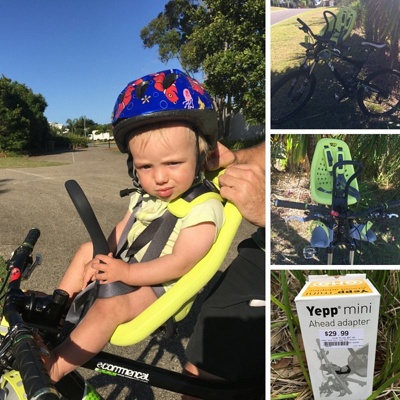 A Review Of The Yepp Mini Baby Bike Seat Kids Articles And Tips